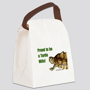 Proud to be a Turtle Wife Canvas Lunch Bag