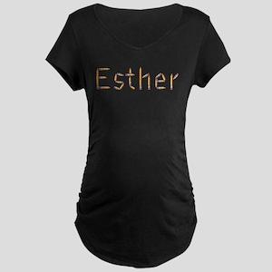 Esther Pencils Maternity Dark T-Shirt