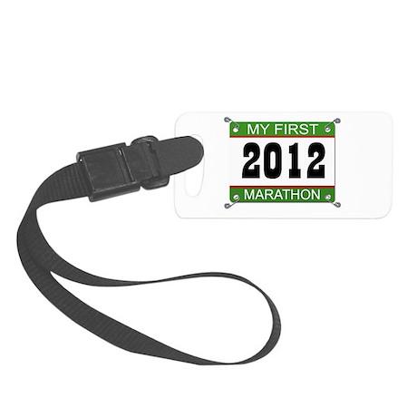 My First Marathon Bib - 2012 Small Luggage Tag