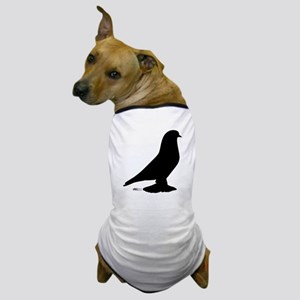 West Pigeon Silhouette Dog T-Shirt
