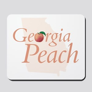 Georgia Peach State Mousepad
