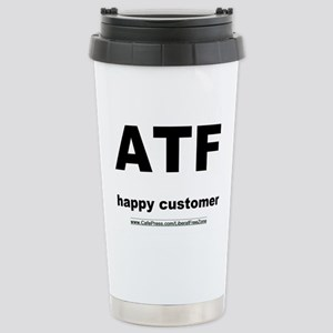 ATFbow10 Stainless Steel Travel Mug