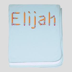 Elijah Pencils baby blanket