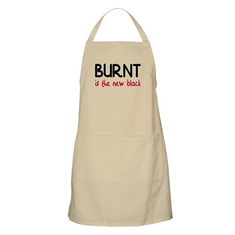 Burnt is the new black Apron