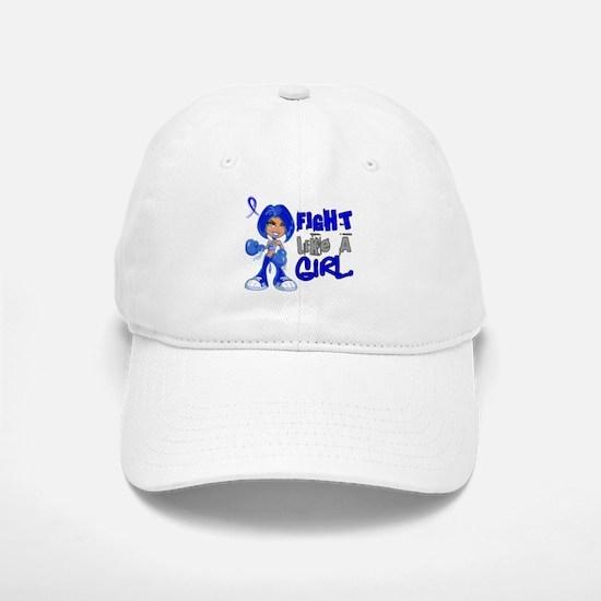 Licensed Fight Like a Girl 42.8 Colon Cancer Baseball Baseball Cap