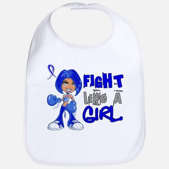 Licensed Fight Like a Girl 42.8 Colon Cancer Bib