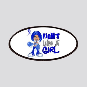 Licensed Fight Like a Girl 42.8 Colon Canc Patches