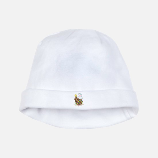 Yule Dog baby hat