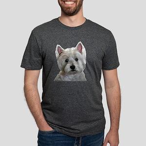 MY PERFECT WESTIE Mens Tri-blend T-Shirt