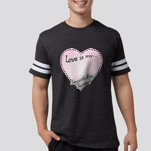 SmoothFoxLoveIsdark Mens Football Shirt