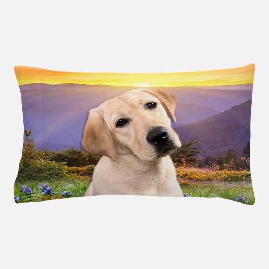 Labrador Meadow Pillow Case