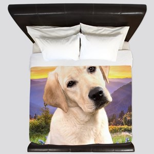 Labrador Meadow King Duvet