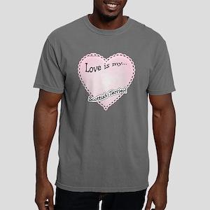 ScottishTerrierLoveIsdar Mens Comfort Colors Shirt
