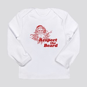 Respect the Beard Long Sleeve Infant T-Shirt