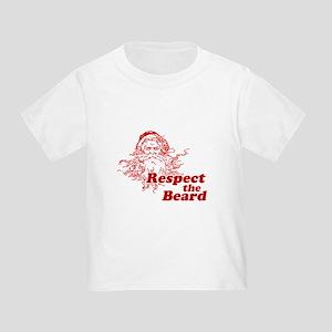 Respect the Beard Toddler T-Shirt