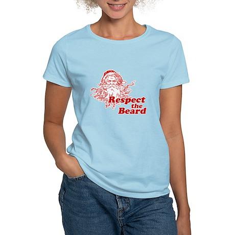 Respect the Beard Women's Light T-Shirt