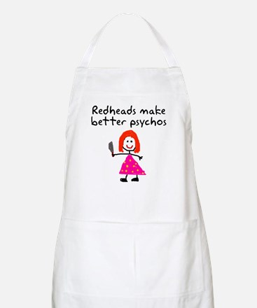 Redheads make better psychos Apron
