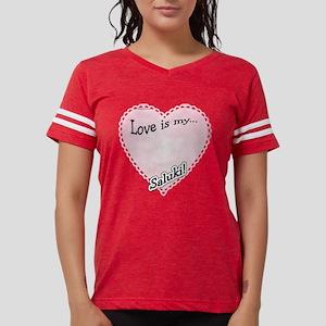 SalukiLoveIsdark Womens Football Shirt