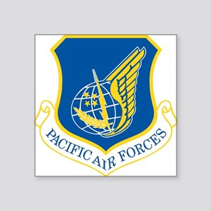 Pacific Air Forces Rectangle Sticker