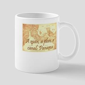 A man a plan a canal: Panama Mug