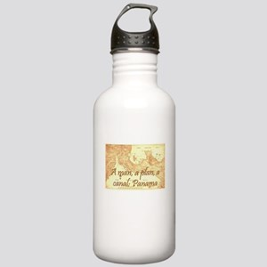 A man a plan a canal: Panama Stainless Water Bottl