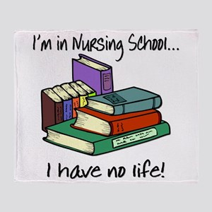 Nursing School Throw Blanket