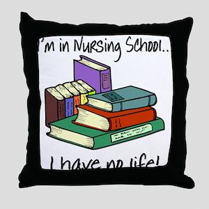 Nursing School Throw Pillow