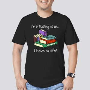 Nursing School Men's Fitted T-Shirt (dark)