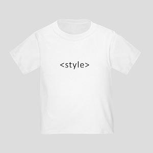 Style Open Dark Toddler T-Shirt