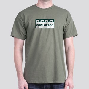 Cowlorado - Colorado - CO - Colo Dark T-Shirt