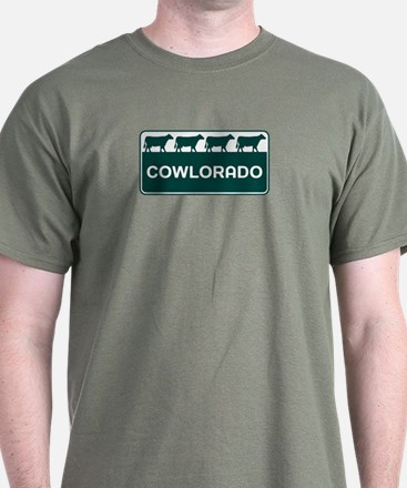 Cowlorado - Colorado - CO - Colo T-Shirt