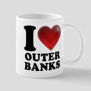 I Heart Outer Banks Mug