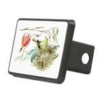 Gold Finch Painting Rectangular Hitch Cover