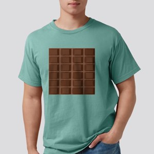 Fun Chocolate bar Mens Comfort Colors Shirt