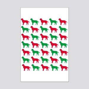 Labrador Retriever Christmas or Holiday Silhouette