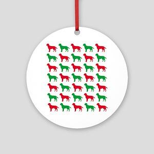 Labrador Retriever Christmas or Holiday Silhouette