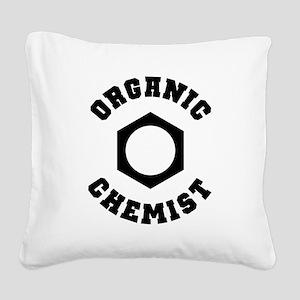 Organic Chemist Square Canvas Pillow