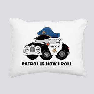 Sheriff Car Patrol Is How I Roll Rectangular Canva