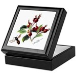 Rose Rosehips and Bee Keepsake Box