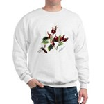 Rose Rosehips and Bee Sweatshirt