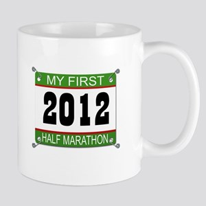 My First 1/2 Marathon Bib - 2012 Mug