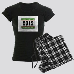 My First 1/2 Marathon Bib - 2012 Women's Dark Paja