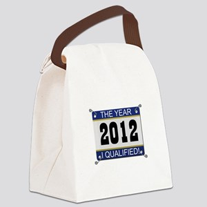 I Qualified Bib - 2012 Canvas Lunch Bag