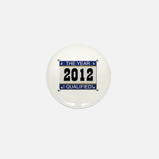 I Qualified Bib - 2012 Mini Button