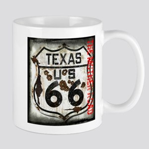 Texas Route 66 Used and Abused Mug
