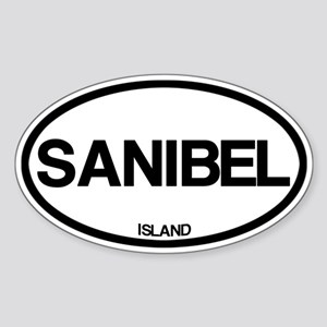 Sanibel Sticker (Oval)