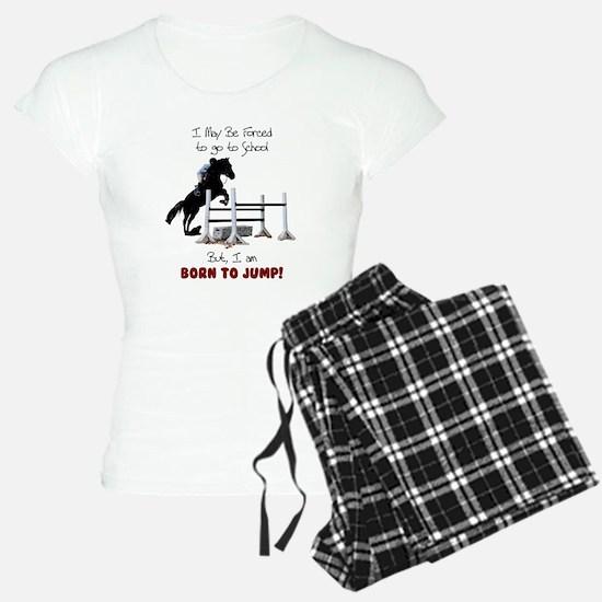 Fun Hunter Jumper Horse Pajamas