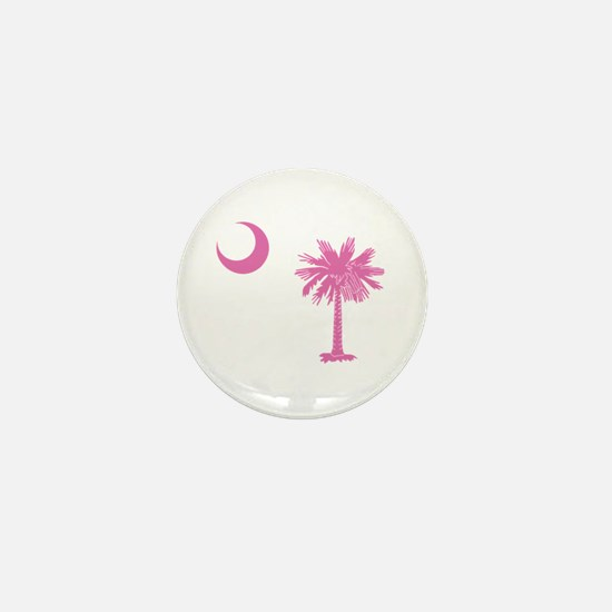 Palmetto & Cresent Moon Mini Button