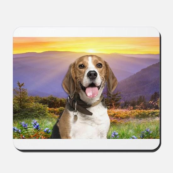 Beagle Meadow Mousepad