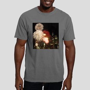 New York City Fireworks Mens Comfort Colors Shirt